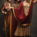 Latest fashion Walima dresses 2012 in Pakistan 14