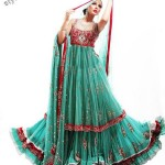 Latest fashion Walima dresses 2012 in Pakistan 17