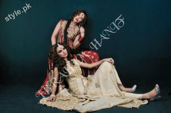 Latest fashion Walima dresses 2012 in Pakistan 3