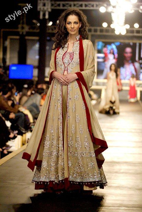Latest Fashion Walima Dresses 2012 In Pakistan 6