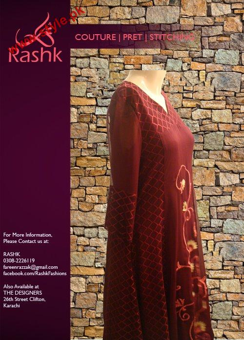 Rushk Latest Winter Collection 2012 005 for women local brands