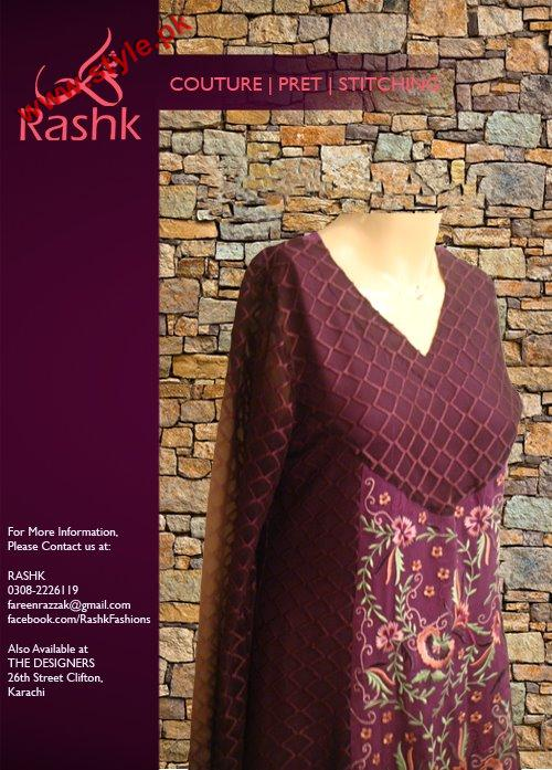 Rushk Latest Winter Collection 2012 007 for women local brands