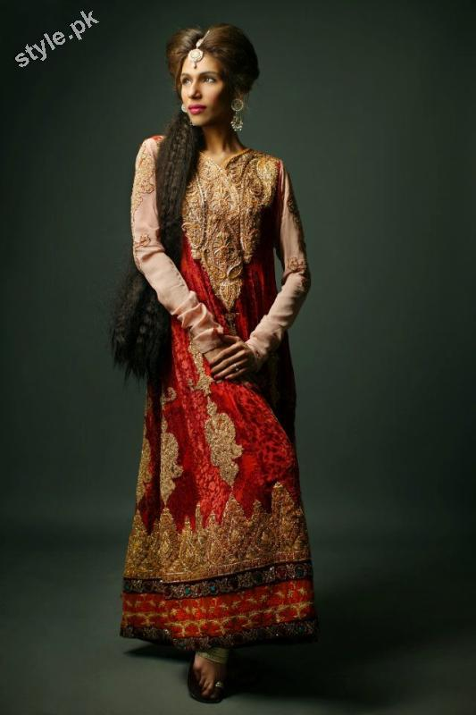 Shameel Ansari New Couture Bridal Collection 2012 1 designer dresses bridal dresses