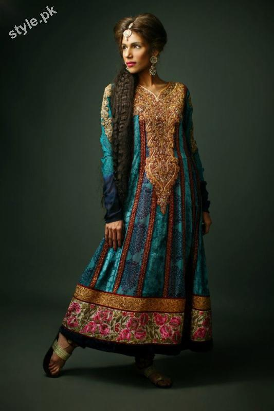 Shameel Ansari New Couture Bridal Collection 2012 2 designer dresses bridal dresses