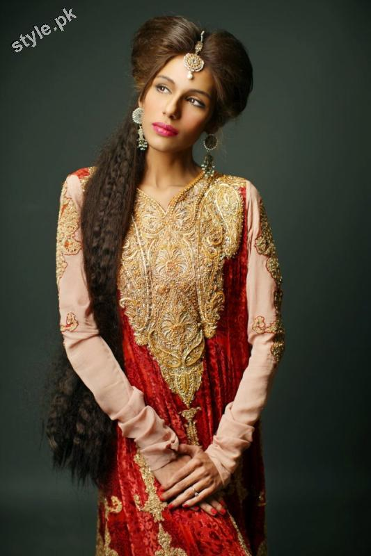 Shameel Ansari New Couture Bridal Collection 2012 3 designer dresses bridal dresses