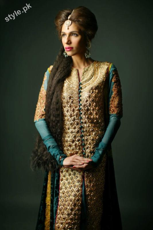 Shameel Ansari New Couture Bridal Collection 2012 4 designer dresses bridal dresses