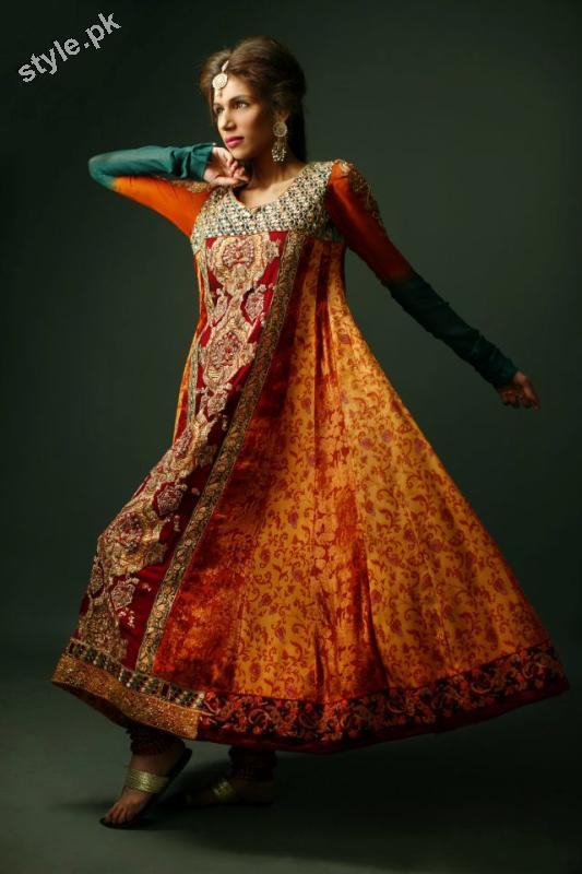 Shameel Ansari New Couture Bridal Collection 2012 5 designer dresses bridal dresses