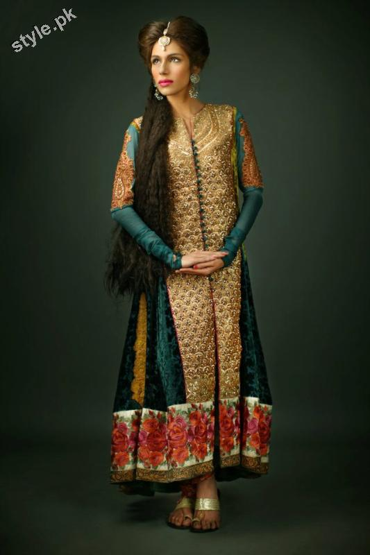 Shameel Ansari New Couture Bridal Collection 2012 6 designer dresses bridal dresses