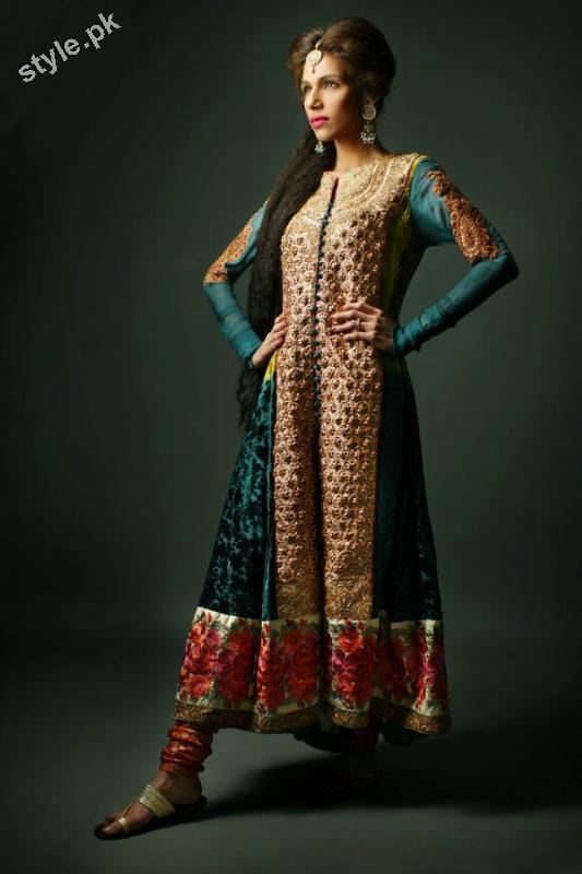 Shameel Ansari New Couture Bridal Collection 2012 7 designer dresses bridal dresses