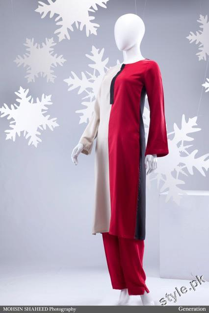 Stylish New Year 2012 Women Dress by Generation 4