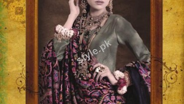 Winter Antique Shawl Collection 2012 by Saleem Fabrics 1