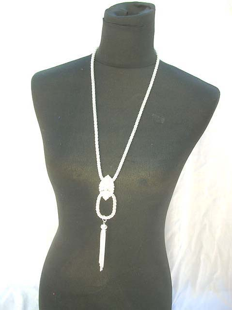 long diamond necklace 006