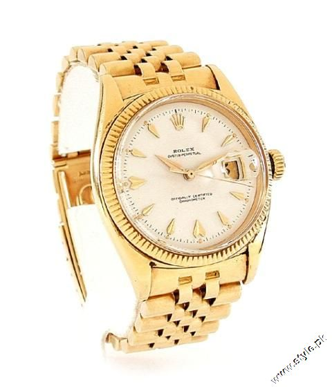 1. Gold rolex watches 2012