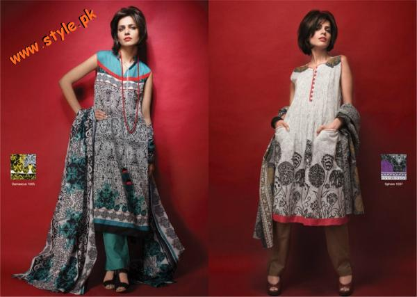 A Karam Lawn Collection For Summer 2012 A Sneak Peak 001 for women local brands al karam textiles