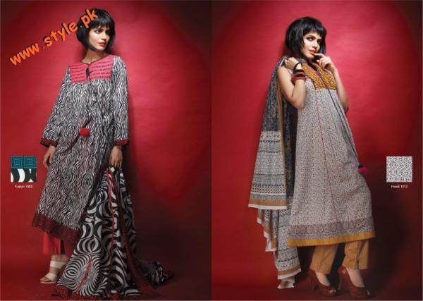A Karam Lawn Collection For Summer 2012 A Sneak Peak 002 for women local brands al karam textiles