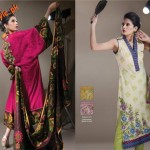 Al-Karam Latest Lawn Dresses For Women 2012-005