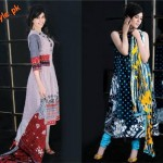 Al-Karam Latest Lawn Dresses For Women 2012-007