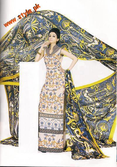 Asim Jofa Lawn Casual Wear For Year 2012 010 pakistani dresses designer dresses