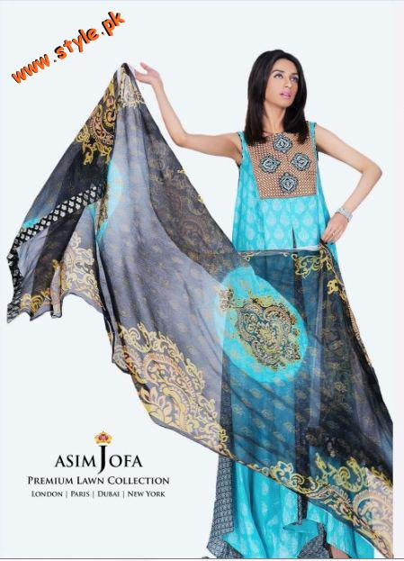 Asim Jofa Premium Lawn Collection For Spring 2012 012 pakistani dresses designer dresses