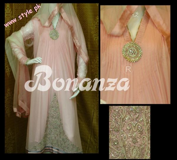 Bonanza Latest Party wear Collection For SPring 2012 004 for women local brands bonanza designer