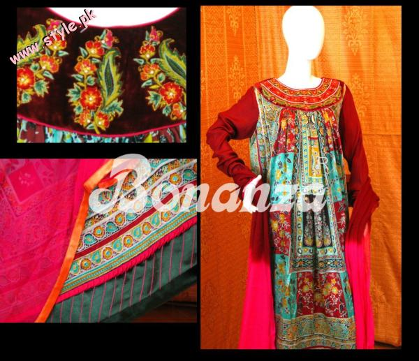 Bonanza New Arrivals Of Spring Collection 2012 003 for women local brands bonanza designer