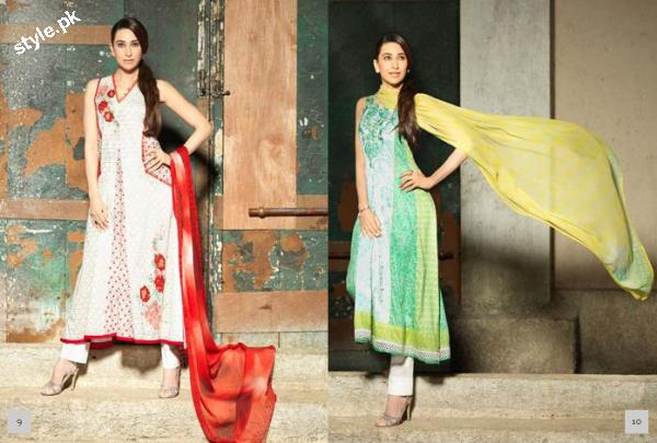 Crescent Lawn by faraz Manan Summer Collection 2012 2 local designer clothes for women crescent lawn designer