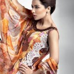 Gul Ahmed Chiffon Summer Collection 2012 for Girls 1