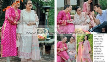 Gul Ahmed Latest Lawn Collection For Mothers 2012-004
