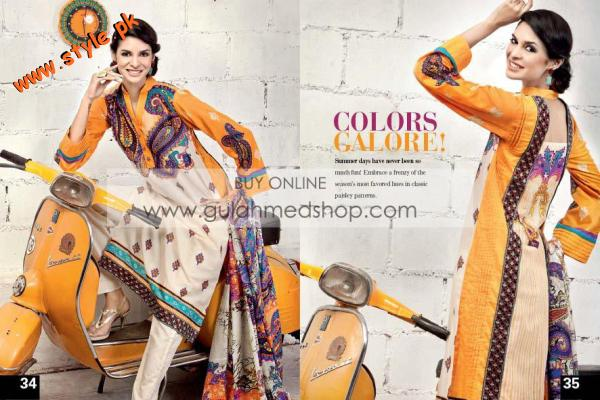 Gul Ahmed Latest Summer Collection For Women 2012 009 pakistani dresses fashion brands