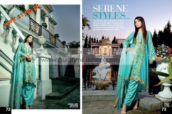 Gul Ahmed Latest Summer Collection For Women 2012 012 pakistani dresses fashion brands