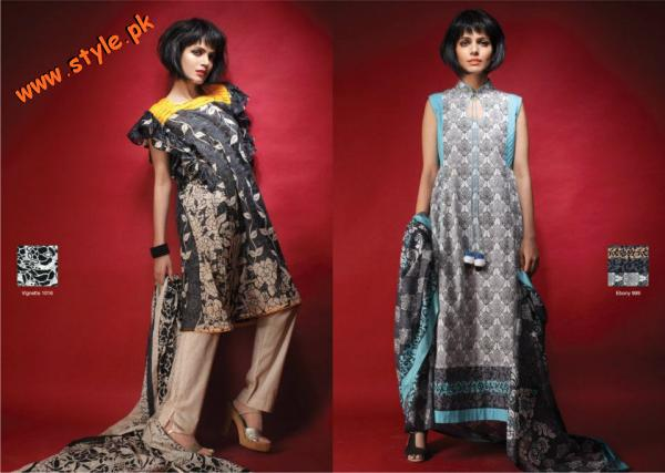 Latest Al Karam Collection For Summer 2012 004 for women local brands al karam textiles