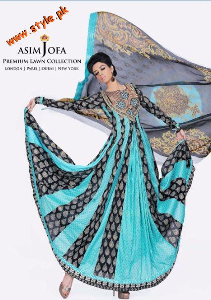 Latest Asim Jofa Spring Collection 2012 005 pakistani dresses designer dresses