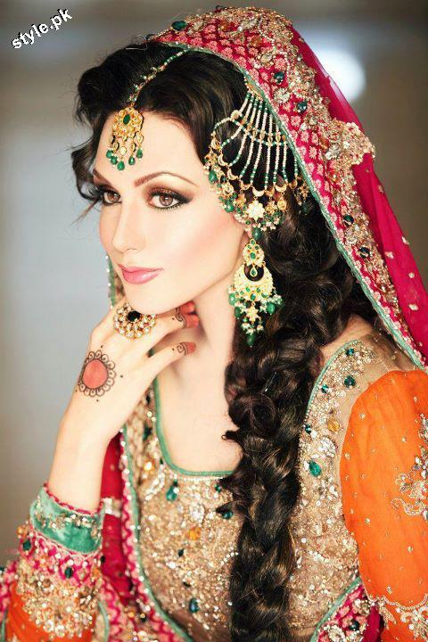 Latest Bridal Jewellery designs 2012 in Pakistan 1 wedding wear jewellery