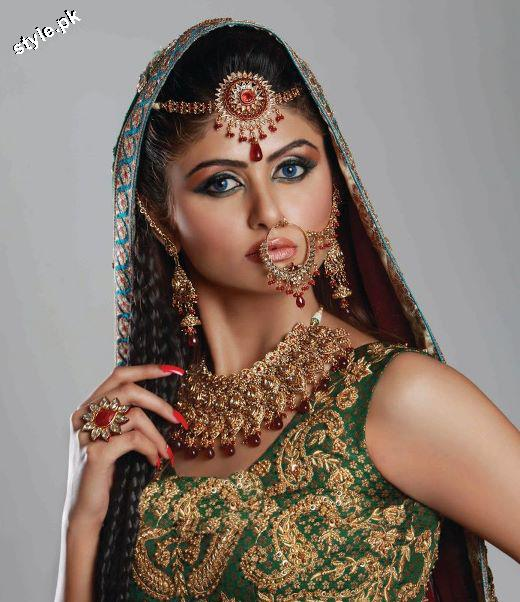 Latest Bridal Jewellery designs 2012 in Pakistan 7 wedding wear jewellery