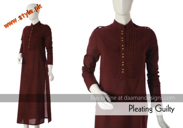 Latest Casual Wear Collection For Women By Daaman 2012 004 for women local brands