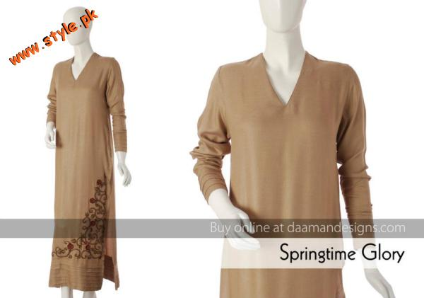 Latest Casual Wear Collection For Women By Daaman 2012 005 for women local brands