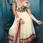 Latest Fashion Anarkali Frocks 2012 for Women 11