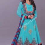 Latest Fashion Anarkali Frocks 2012 for Women 12