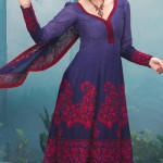 Latest Fashion Anarkali Frocks 2012 for Women 3