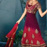 Latest Fashion Anarkali Frocks 2012 for Women 4