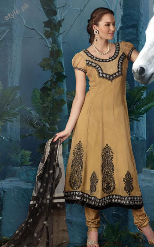 Latest Fashion Anarkali Frocks 2012 for Women 7