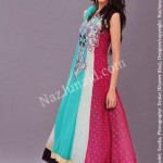Latest Fashion Anarkali Frocks 2012 for Women 9