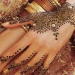 Latest Fashion Mehndi Designs For Women 2012 3