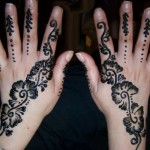 Latest Fashion Mehndi Designs For Women 2012 8