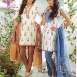 Latest Fashion Stitched Summer Suits 2012 by Mansha a 150x150 designer dresses