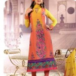 Latest Fashion Stitched Summer Suits 2012 by Mansha i