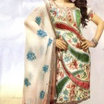Latest Fashion Stitched Summer Suits 2012 by Mansha j