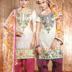 Latest Fashion Stitched Summer Suits 2012 by Mansha k 150x150 designer dresses