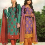 Latest Fashion Stitched Summer Suits 2012 by Mansha m 150x150 designer dresses