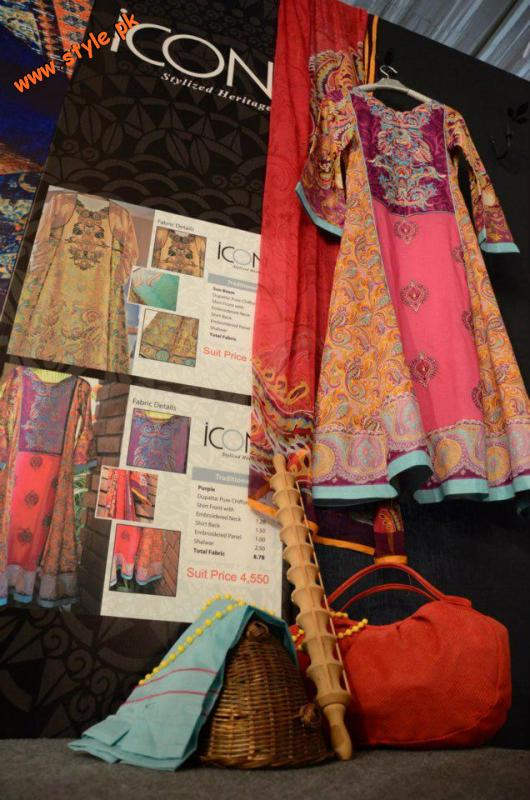 Latest Icon Fabrics Lawn Casual Wear 2012 006 pakistani dresses